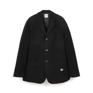 Bedwin & The Heartbreakers | 'Michael' 3B Cotton Moleskin Jacket Black