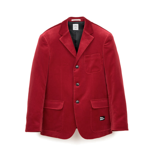 Bedwin & The Heartbreakers | x Curtis Kulig 'Michael' 3B Velvet Taylor Jacket Red - Concrete
