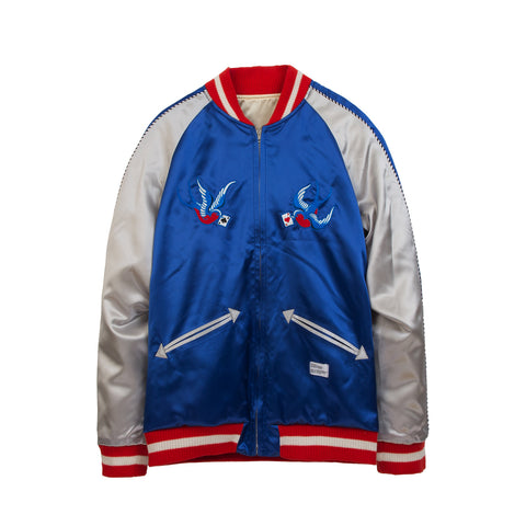 Bedwin 'McKnight' Souvenir Jacket Blue