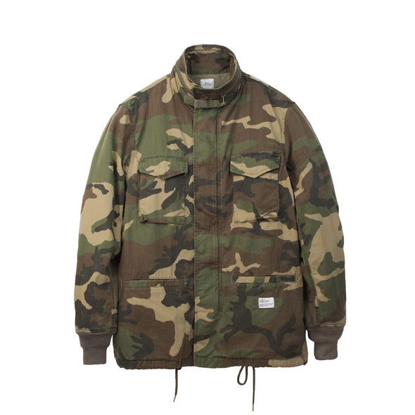 Bedwin & The Heartbreakers | 'Gordon' M-65 Field Jacket FD Camo - Concrete