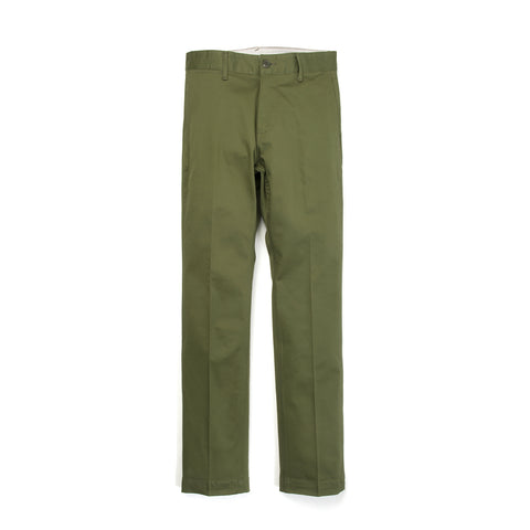 Bedwin 'Joe' 10/L Chino Stretch Pants Olive