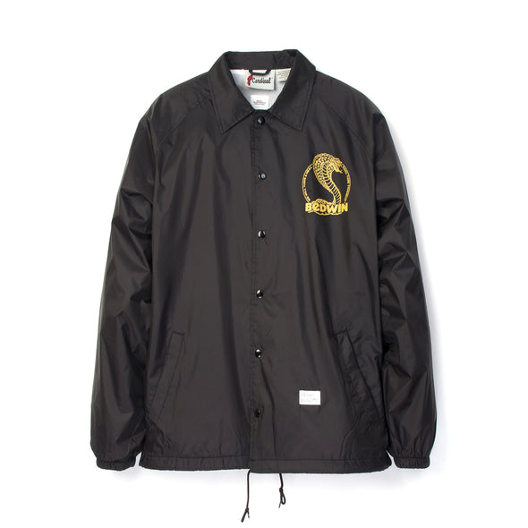 Bedwin & The Heartbreakers | 'Jill' L/S Coach Jacket Black