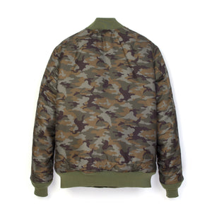 Bedwin 'Duffy' MA-1 Reversible Jacket Olive