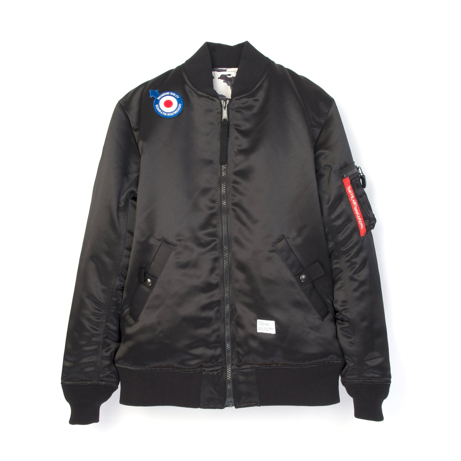 Bedwin 'Duffy' MA-1 Jacket Black