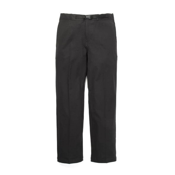 Bedwin & The Heartbreakers | 'Tav' 10/L Stretch Cotton Easy Pants Black - Concrete