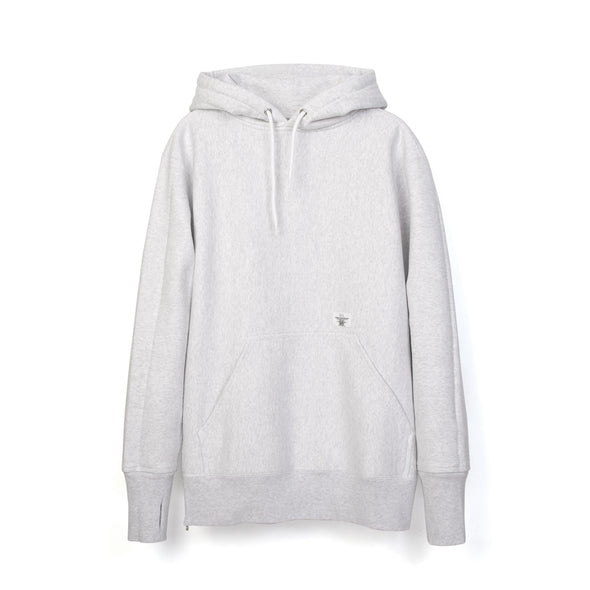 Bedwin 'David' L/S Heavy Cotton Hooded Sweat Gray