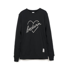 Afbeelding in Gallery-weergave laden, Bedwin 'Lou' L/S C-Neck Sweat Black