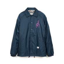 Load image into Gallery viewer, Bedwin 'Jill' L/S Coach Jacket Navy