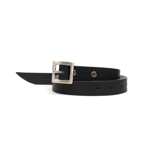 Bedwin & The Heartbreakers | 'Terry' Leather Belt Black
