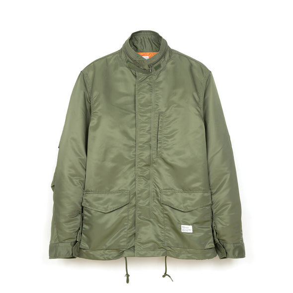 Bedwin & The Heartbreakers | 'Gordon' Type M-65 Field Jacket Olive