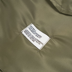 Bedwin & The Heartbreakers | 'Gordon' Type M-65 Field Jacket Olive - Concrete