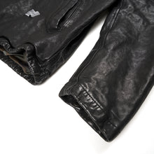 Load image into Gallery viewer, Bedwin 'Jill' Leather Coaches Jacket FD Black