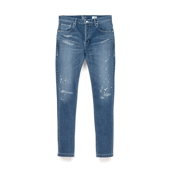Bedwin & The Heartbreakers | 'Geoffrey' Skinny Fit Stretch Denim Rep Indigo - Concrete
