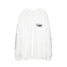 Load image into Gallery viewer, Bedwin & The Heartbreakers | 'Keith' L/S Print T-Shirt White/Black - Concrete
