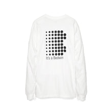 Afbeelding in Gallery-weergave laden, Bedwin 'Keith' L/S Print T-Shirt White/Black