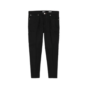 Bedwin & The Heartbreakers | 'Jessee' 9L Denim Pants Raw Black - Concrete