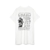 Bedwin 'Lee' S/S Print T-Shirt White