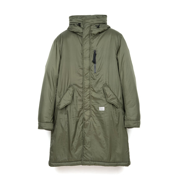Bedwin & The Heartbreakers | 'Chase' Type M-48 Military Parka Olive - Concrete