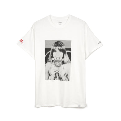 Bedwin & The Heartbreakers | 'Robin' S/S Photo Print T-Shirt White
