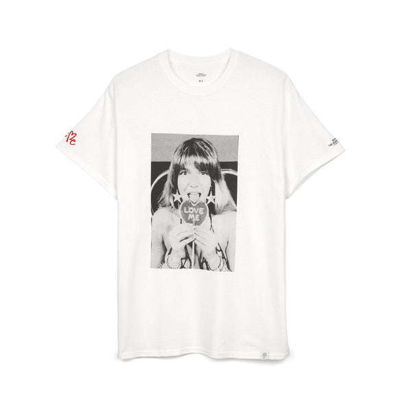 Bedwin & The Heartbreakers | 'Robin' S/S Photo Print T-Shirt White - Concrete