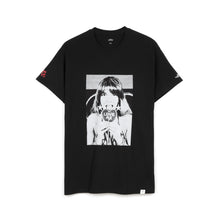 Load image into Gallery viewer, Bedwin & The Heartbreakers | 'Robin' S/S Photo Print T-Shirt Black - Concrete
