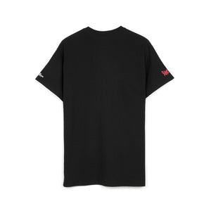 Bedwin & The Heartbreakers | 'Robin' S/S Photo Print T-Shirt Black