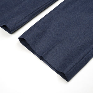 Bedwin & The Heartbreakers | 'Jessee' 9/L Wool Pants Navy - Concrete