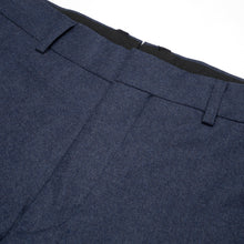 Load image into Gallery viewer, Bedwin & The Heartbreakers | 'Jessee' 9/L Wool Pants Navy - Concrete
