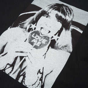 Bedwin & The Heartbreakers | 'Robin' S/S Photo Print T-Shirt Black - Concrete