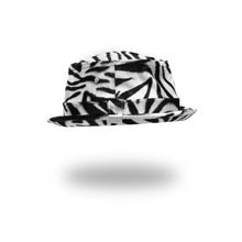 Load image into Gallery viewer, Bedwin & The Heartbreakers | 'Chet' Fake Fur Poke Pie Hat Zebra