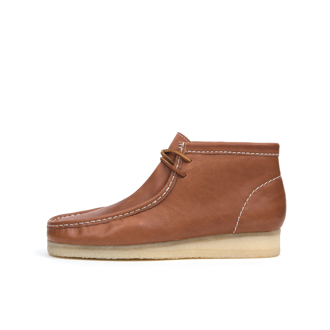 Bedwin & The Heartbreakers | x Clarks 'Wallabee' Boot Brown - Concrete