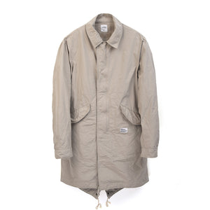 Bedwin & The Heartbreakers | 'Costello' Type M-65 Coat FD Gray - Concrete