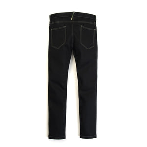 Bedwin & The Heartbreakers | 'Geoffrey' Skinny Stretch Denimpants Raw Black - Concrete