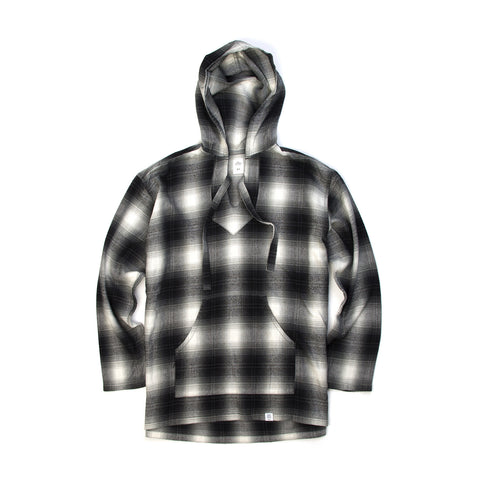 Bedwin 'Gus' L/S Baja Pullover Hooded Shirt FD Gray
