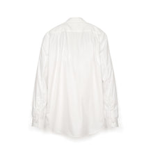 Load image into Gallery viewer, Bedwin & The Heartbreakers | x Curtis Kulig 'Oliva' L/S Round Collar Bosom Shirt White - Concrete
