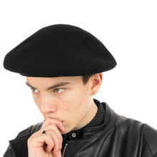 Load image into Gallery viewer, Bedwin 'Bret' Basuque Beret Black