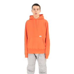 Bedwin & The Heartbreakers | 'David' Heavy Cotton Pullover Hoodie Orange - Concrete