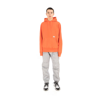 Bedwin 'David' Heavy Cotton Pullover Hoodie Orange