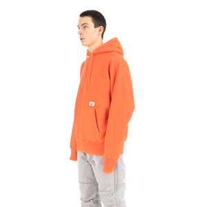 Bedwin & The Heartbreakers | 'David' Heavy Cotton Pullover Hoodie Orange