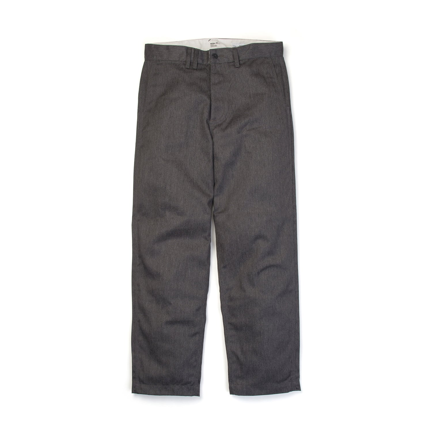 Bedwin 'Ronald' 10/L T/C Chino Pants Gray