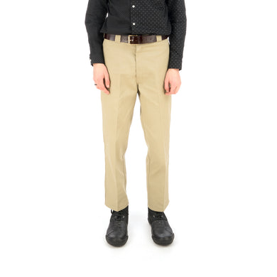 Bedwin & The Heartbreakers | 'Thunders' 10/L Dickies 874T/C Pants Khaki - Concrete