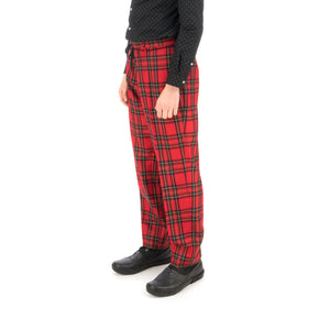 Bedwin & The Heartbreakers | 'Thunders' 10/L Wool Flannel Pants Red