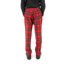 Afbeelding in Gallery-weergave laden, Bedwin & The Heartbreakers | 'Thunders' 10/L Wool Flannel Pants Red