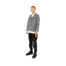 Load image into Gallery viewer, Bedwin & The Heartbreakers | 'Travis' 3B Tweed Taylor Jacket Navy - Concrete