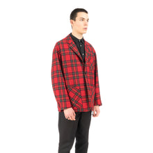 將圖像加載到畫廊查看器中Bedwin & The Heartbreakers | 'Travis' 4B Wool Flannel Taylor Jacket Red