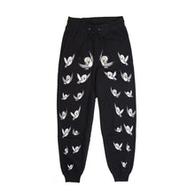 Load image into Gallery viewer, Bobby Abley 'Bobby Birds' Track Pants Black