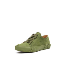 Load image into Gallery viewer, Both Lace Up Low-Top w. Graphic Foxing 54 Army Green