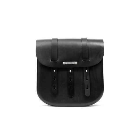 Brooks England B3 Leahter Bag Black (large)