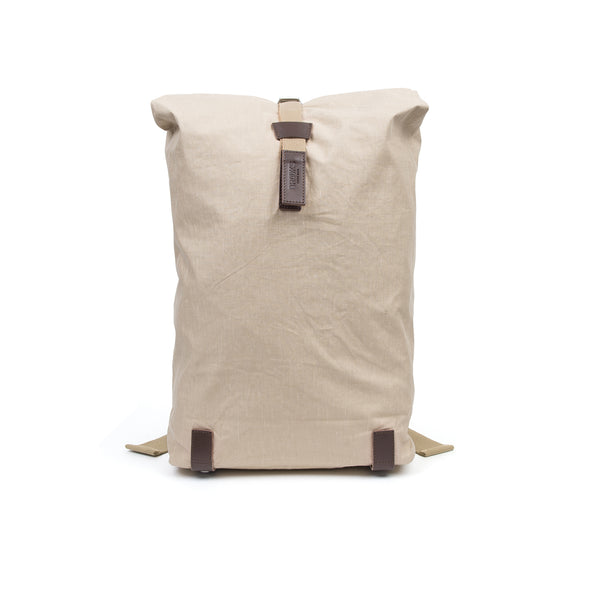 Brooks England | Pickwick Backpack (26Lt) Linen Chocolate - Concrete