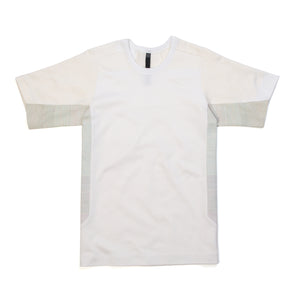 BYBORRE | T-Shirt E1 White Dot - Concrete